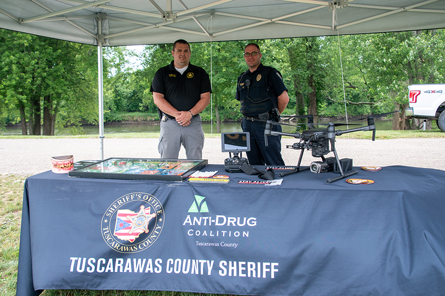 Tuscarawas City Sheriff Dept at Safety Town